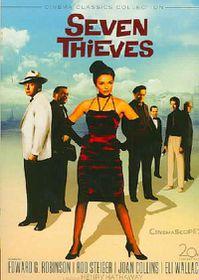 Seven Thieves - (Region 1 Import DVD)