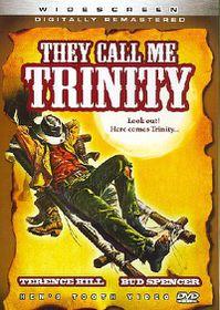 They Call Me Trinity - (Region 1 Import DVD)