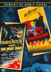 Frankenstein Meets Wolfman/House of - (Region 1 Import DVD)