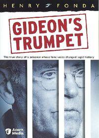 Gideon's Trumpet - (Region 1 Import DVD)
