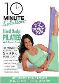 10 Minute Solution: Slim & Sculpt Pilates - (Region 1 Import DVD)