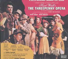 Weill:Threepenny Opera Complete Score - (Import CD)