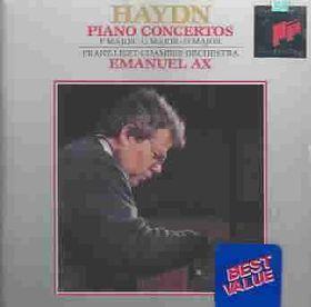 Emanuel Ax / Franz Liszt Chamber Orchestra - Piano Concertos In F, G & D (CD)