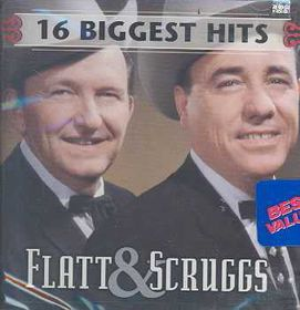Flatt & Scruggs - 16 Biggest Hits (CD)