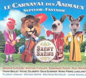Saint Saens - Carnaval Des Animaux / Septuo (CD)