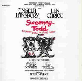 Sweeney Todd (OST) - (Import CD)