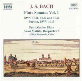 Alanko / Mattila / Rautasalo - Flute Sonatas Vol. 1 (CD)