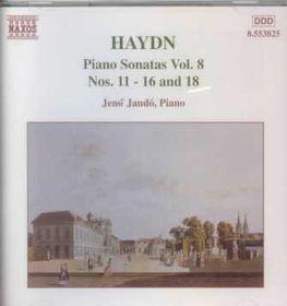 Jeno Jando - Piano Sonatas Vol. 8 - Nos. 11 - 16 & 18 (CD)
