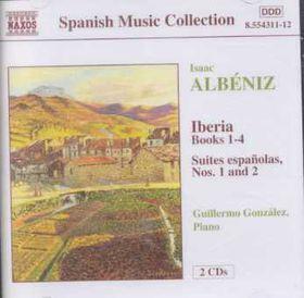 Albeniz - Iberia Complete+Suites Espanolas 1&2 (CD)