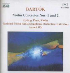 Gyorgy Pauk - Violin Concertos Nos. 1 & 2 / Hungarian Pictures (CD)