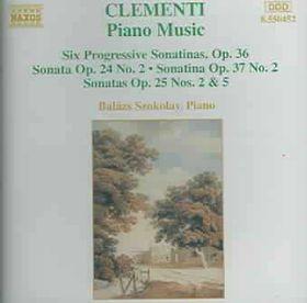 Clementi - Piano Music-Szokolay (CD)