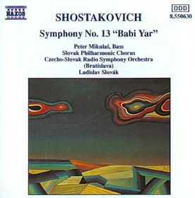 Czech-Slovak Radio Symphony Orchestra - Symphony No. 13 (CD)