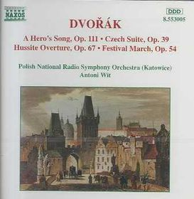 Polish National Radio Symphony Orchestra - Czech Suite / Hussite Overture / Festival March / Heldenlied (CD)