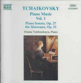 Yablonskaya - Piano Sonata Op. 37 / 6 Morceaux (CD)