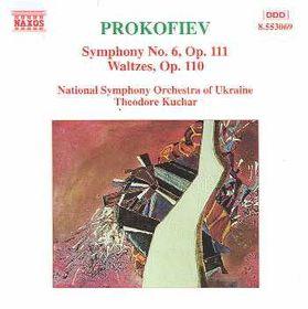 Prokofiev - Symphony No.6,Waltzes Op.110-Kuchar (CD)