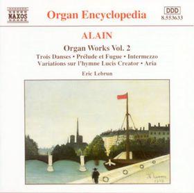 Eric Lebrun - Organ Works - Vol.2 (CD)