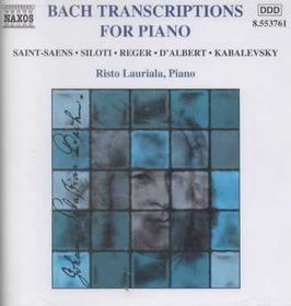 Bach Transcriptions for Piano - (Import CD)