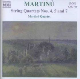 Martinu:String Quartets Volume 3 - (Import CD)