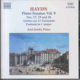Jeno Jando - Piano Sonatas Vol. 9 - Nos. 17, 19 & 28 (CD)