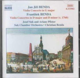 Benda J & F - Violin Concertos Vol.1 (CD)