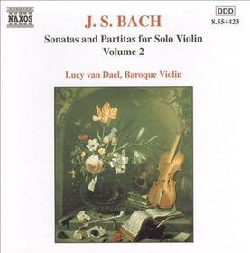 Lucy Van Dael - Solo Violin Sonatas - Vol.2 (CD)