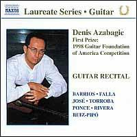 Guitar Laureate - Recital Denis Azabagic (CD)