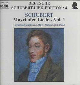 Mayrhofer Lieder Vol 1 - Various Artists (CD)