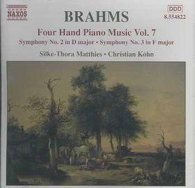 Christian Kohn - Four Hand Piano Music - Vol.7 (CD)