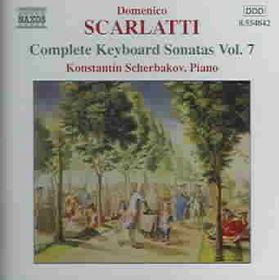 Scarlatti - Sonatas - Vol.7 (CD)