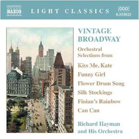 Richard Hayman & His Orchestra - Vintage Broadway (CD)