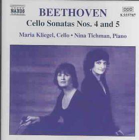 Beethoven - Cello Sonatas Nos.4 & 5; Kliegel (CD)