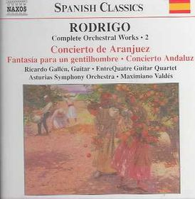 Rodrigo:Complete Orchestral Works 2 - (Import CD)