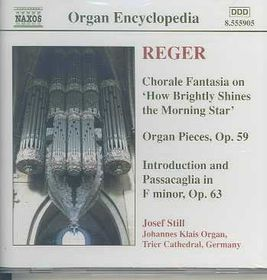 Reger - Organ Works Vol.4;Josef Still (CD)