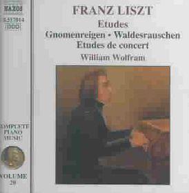 William Wolfram - Etudes - Piano Music - Vol.20 (CD)
