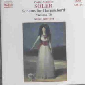 Gilbert Rowland - Sonatas For Harpischord Vol.10 (CD)