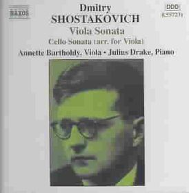 Shostakovich - Viola/Cello Sonatas;Bartholdy (CD)