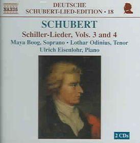 Maya Boog - Schiller Lieder - Vols.3 & 4 (CD)