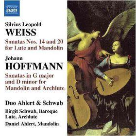Ahlert & Schwab Duo - Songs For Baroque Lute & Mandolin (CD)