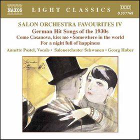 Postel, Annette - Salon Orchestra Favourites IV (CD)