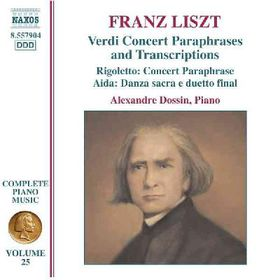 Liszt:Verdi Opera Transcriptions - (Import CD)