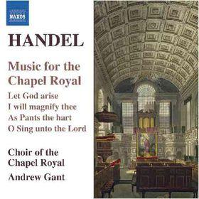 Handel:Music for the Chapel Royal - (Import CD)