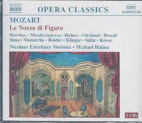 Mozart - Le NoZZe Di Figaro;Michael Halasz (CD)