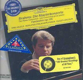 Brahms / originals - Piano Concertos / Fantasias Op.116 (CD)