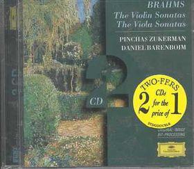 Zukerman / Barenboim - Violin Sonatas / Viola Sonatas (CD)