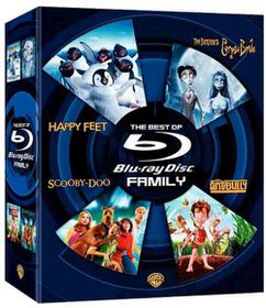 Best of Blu Ray:Family - (Region A Import Blu-ray Disc)