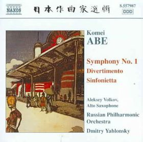 Abe: Symphony No 1 - Symphony No 1 (CD)