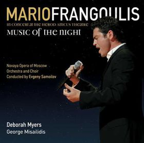 Frangoulis Mario - Music Of The Night (CD)