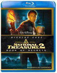 National Treasure Book of Secrets - (Import Blu-ray Disc)