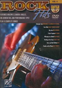 Guitar Play Along Vol 6:Rock Hits - (Region 1 Import DVD)