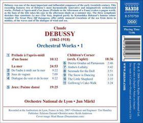 Debussy: La Mer - La Mer (CD)